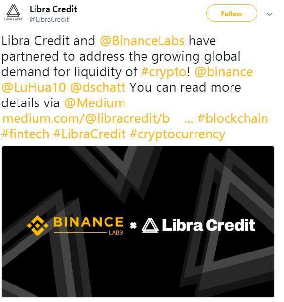 Libra Credits's tweet   Source: Twitter