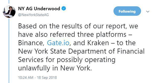Tweet by Barbara Underwood   Source: Twitter