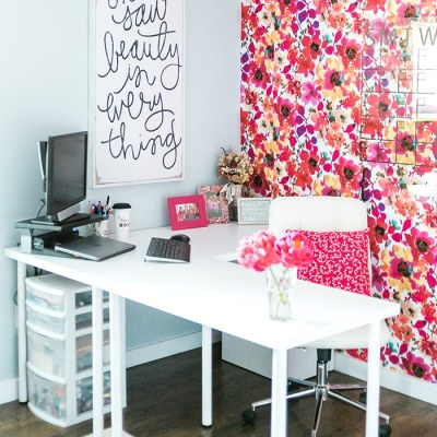One Room Challenge: Office Reveal