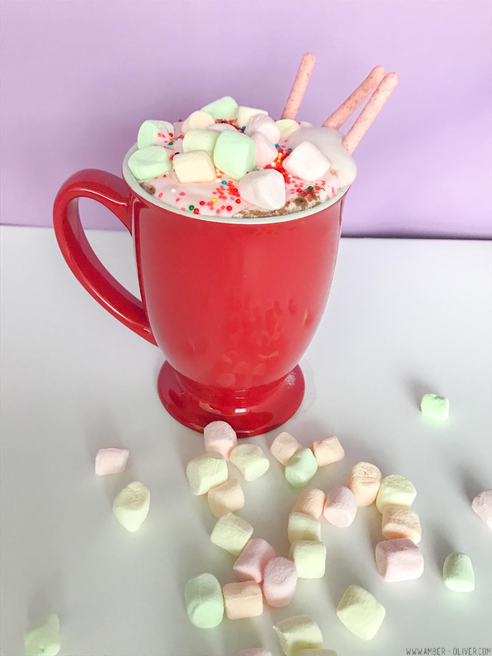 Unicorn Hot Chocolate! With a video recipe