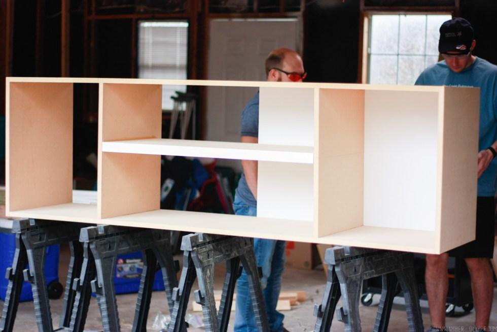 DIY Entertainment Center Plans and Cut List