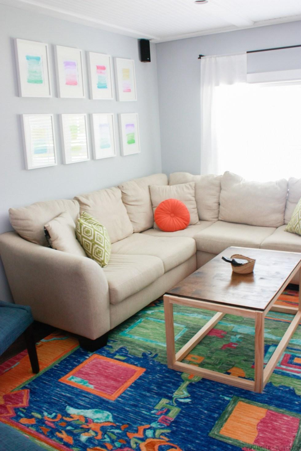One Room Challenge Living Room Makeover