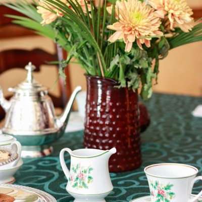 A Southern Style Holiday Tea Party