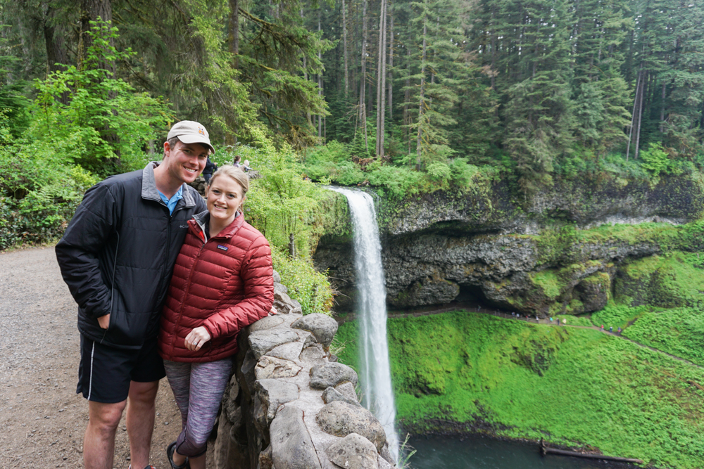 d Trip from Portland to Bend: Silver Falls State Park