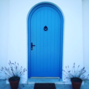 Entrance, Provencal, Lavender