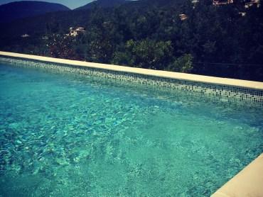 Swimming pool, St. Tropez