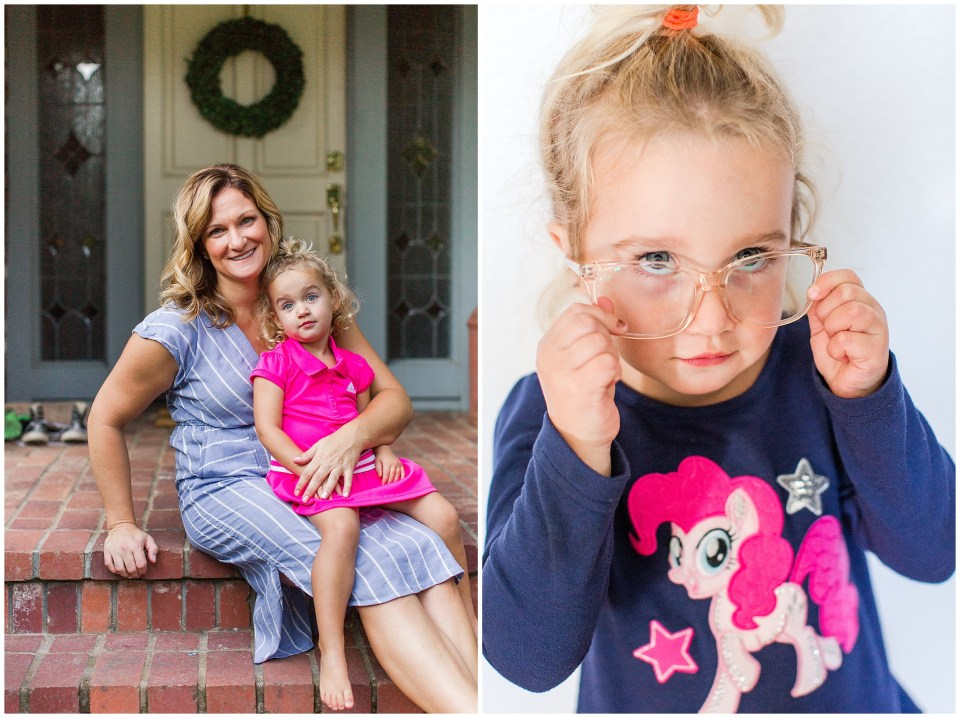 Amber Enos Photography First Day of School Chico California,