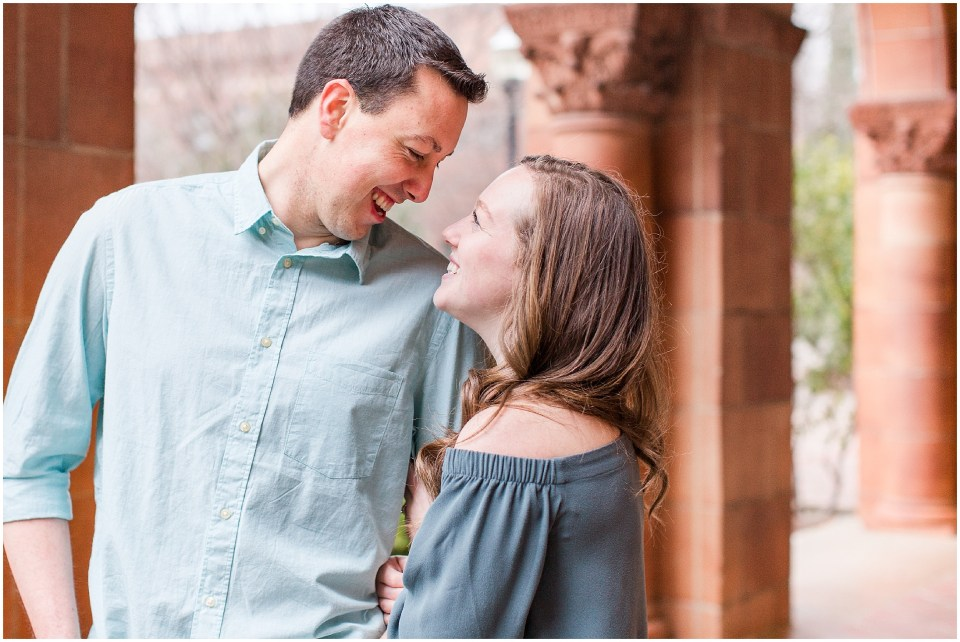 California State University Chico Spring Upper Bidwell Park Engagement Session,