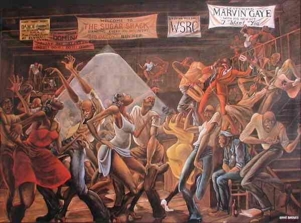 Renowned Painter Ernie Barnes Dies Age 70 - Ambergris