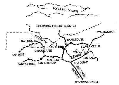 Columbia River Forest Reserve, Belize National Parks
