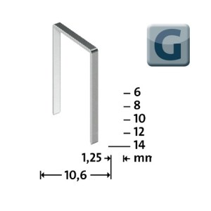 Novus G11 veida skavas tips G-11