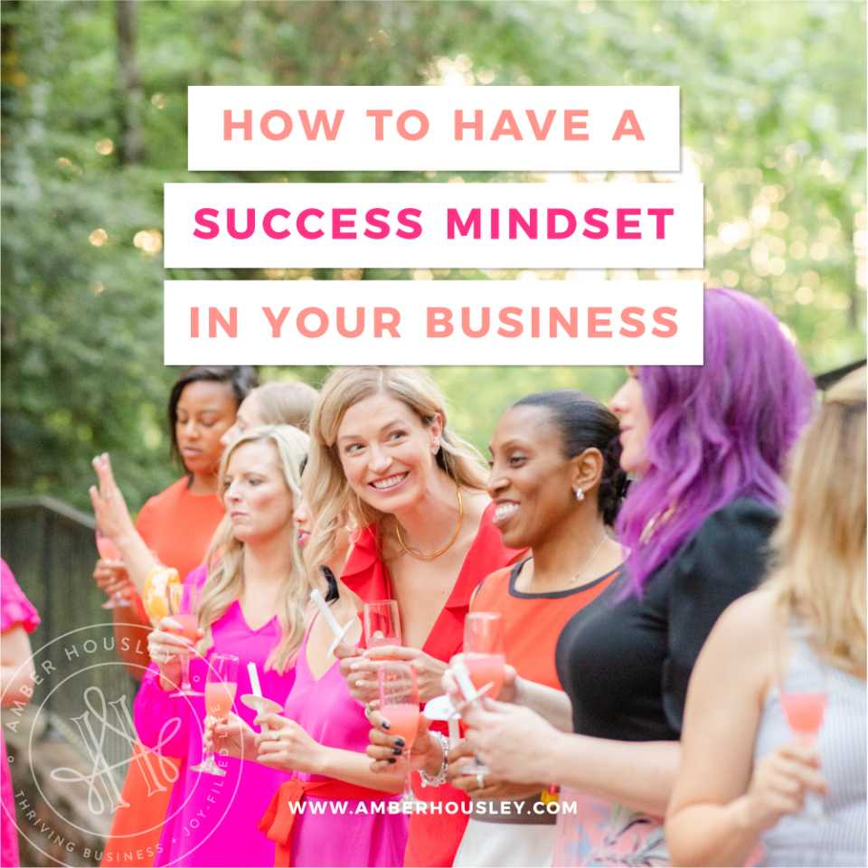 success mindset in your business