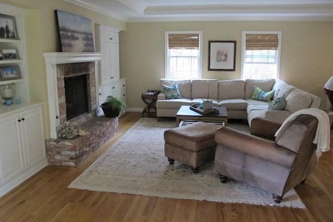 Sala de estar sin reformar