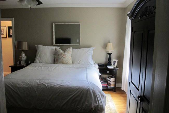 Dormitorio oscuro, sin luz