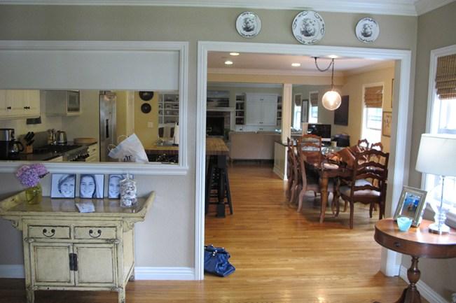 Salón cocina sin reformar
