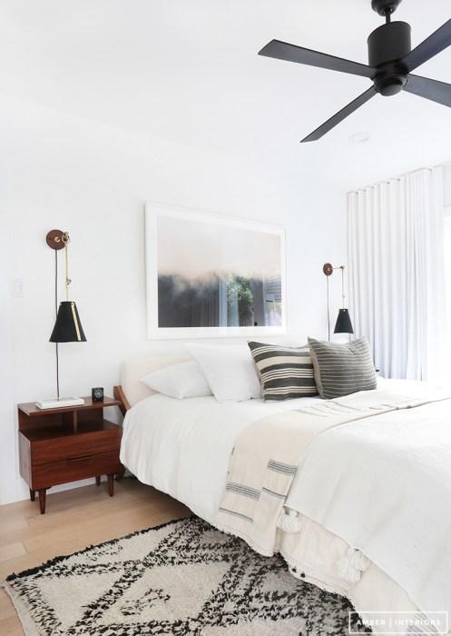 Calidez y claridad para el dormitorio