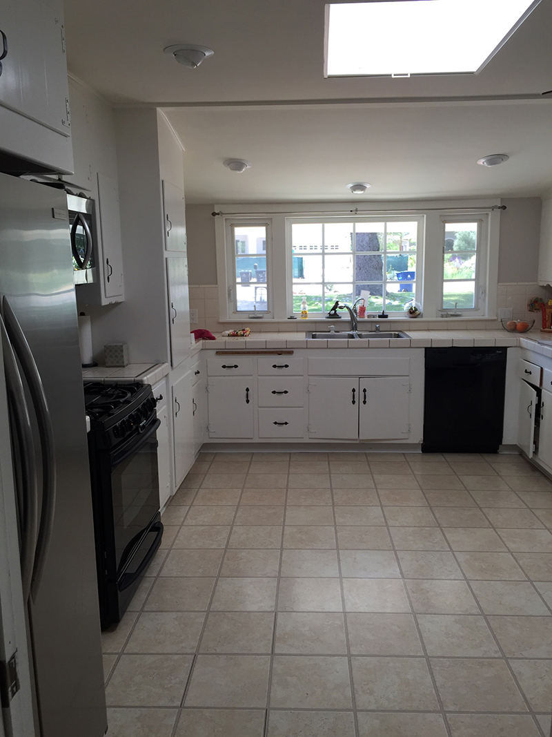 Before  After  No Ordinary Kitchen   Amber Interiors