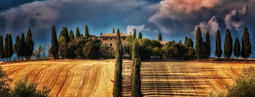 Amberlair Crowdsourced Crowdfunded Boutique Hotel. Autumn in Val d'Orcia by Bettina on 500px
