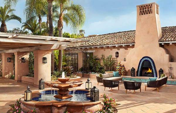 Rancho Valencia, outside San Diego also made an impression on Mrs. O Around the World.