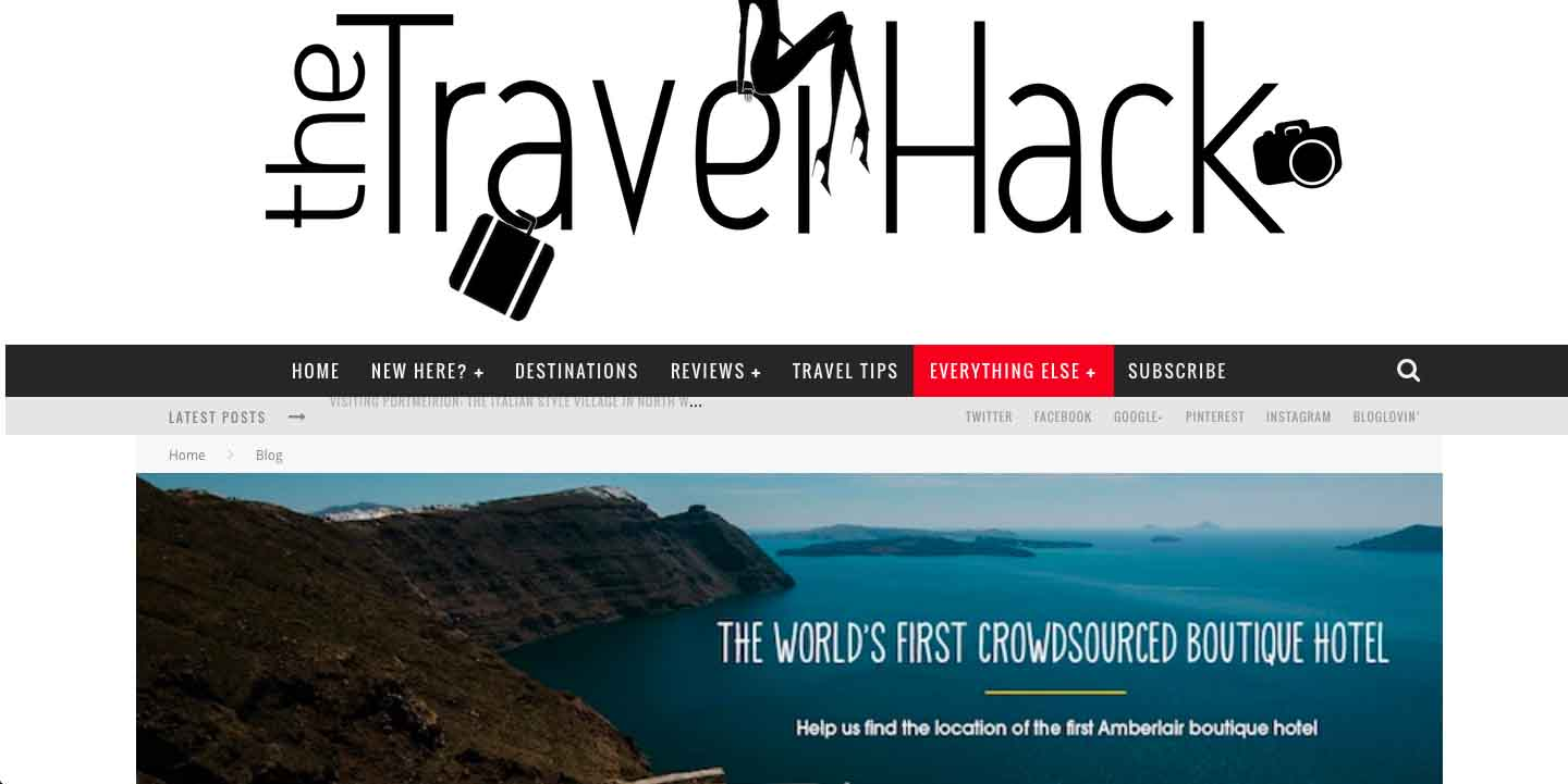 Amberlair Crowdsourced Crowdfunded Boutique Hotel - Monica from The Travel Hack