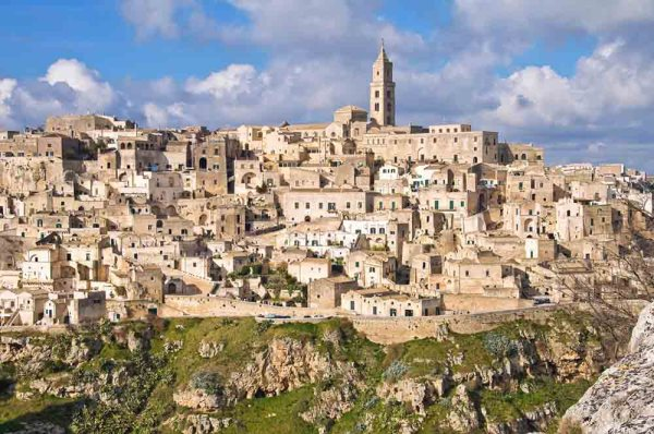 Matera, the third oldest city in the world.