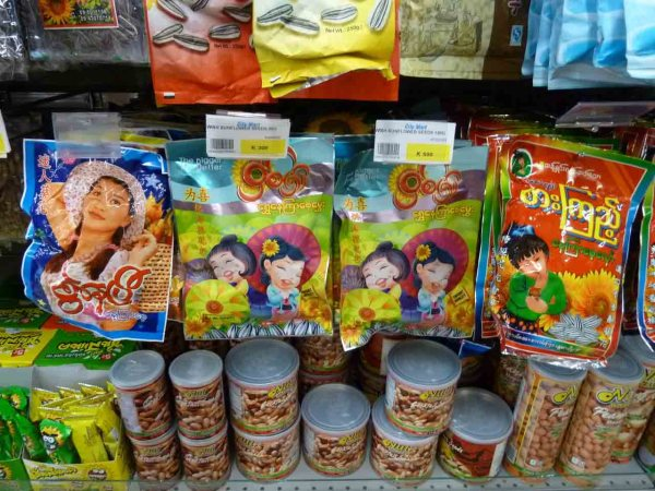 Burmese food from the supermarket