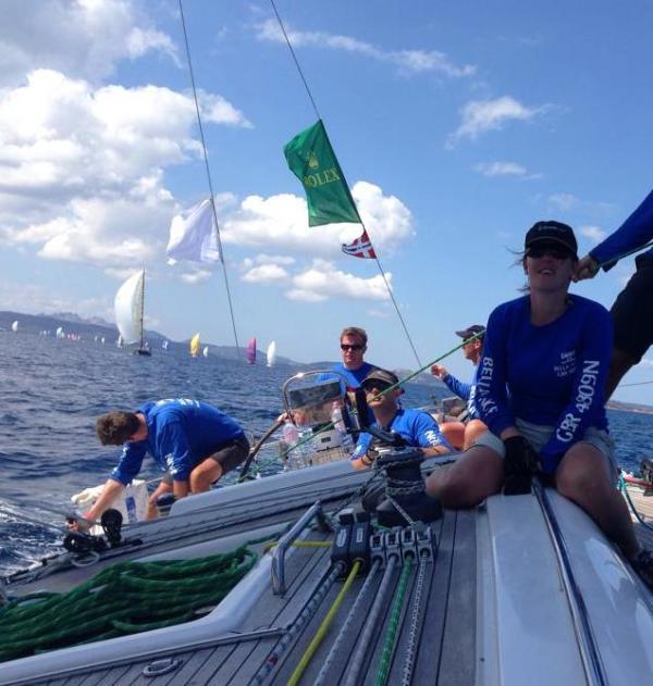 Anna Parker sailing