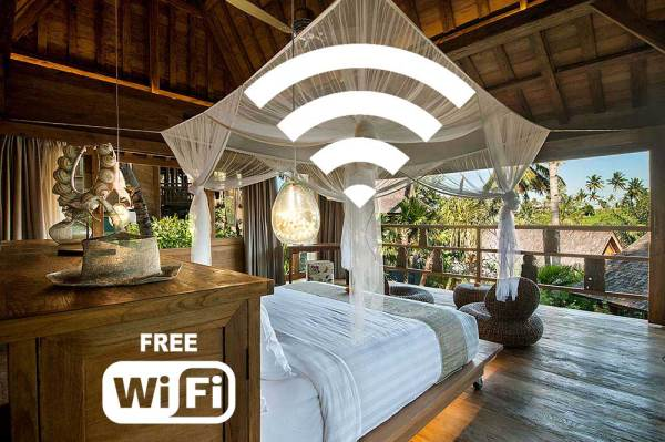 Blue Karma Resort free and fast wifi