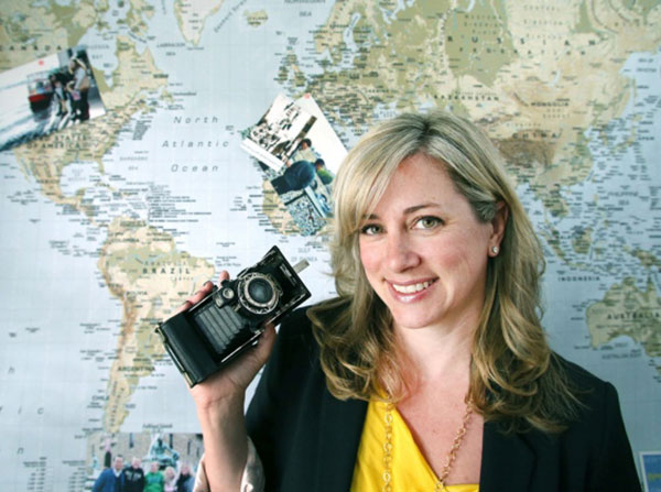 Amberlair Crowdsourced Crowdfunded Boutique Hotel #BoHoLover: Meet Nicole Smith of flytographer @flytographer - Photo by Bruce Stotesbury Times Colonist