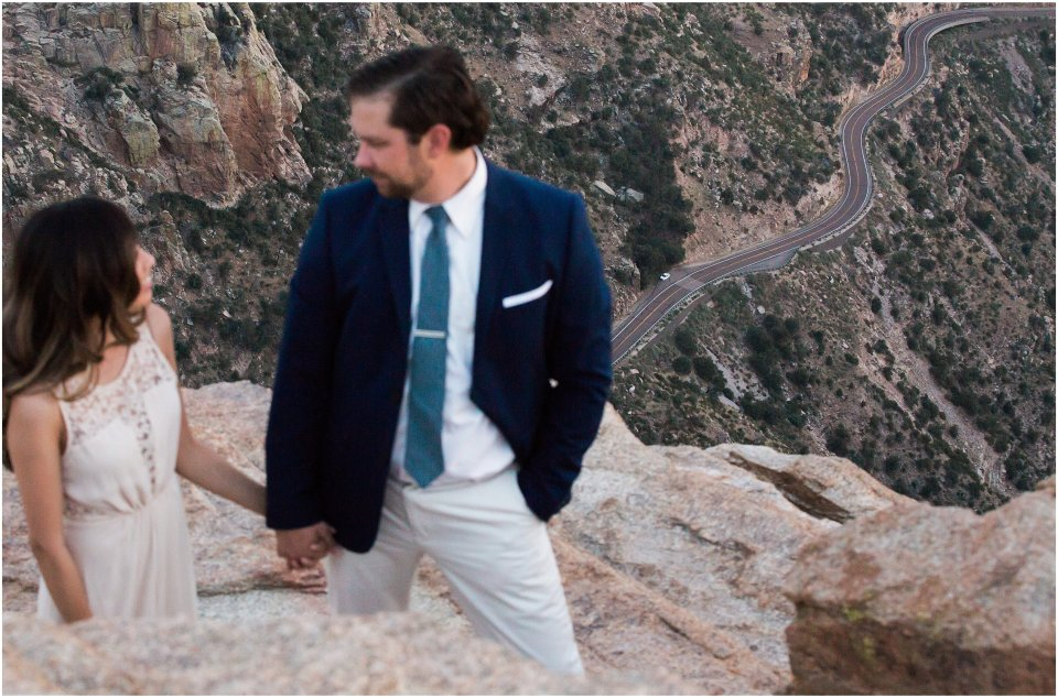 mountain_top_couple's_session_white_lace_dresss_Blue_suit_13