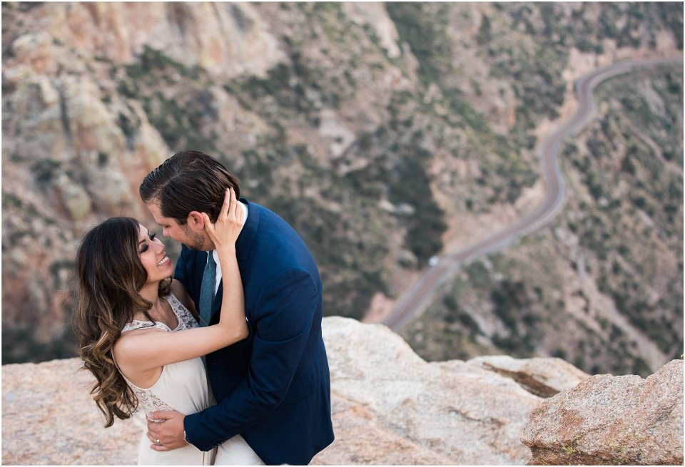 mountain_top_couple's_session_white_lace_dresss_Blue_suit_14