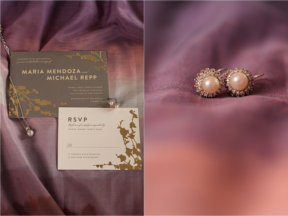 Invitation Suite from Minted.com with Hiena's custom skirt.