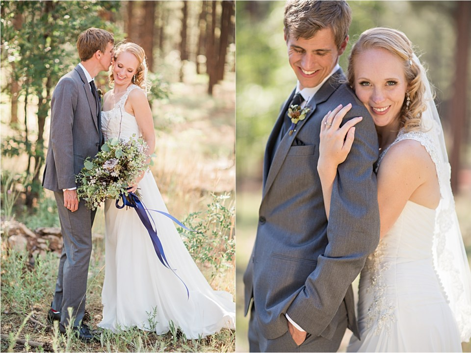 Flagstaff navy and ivory wedding.