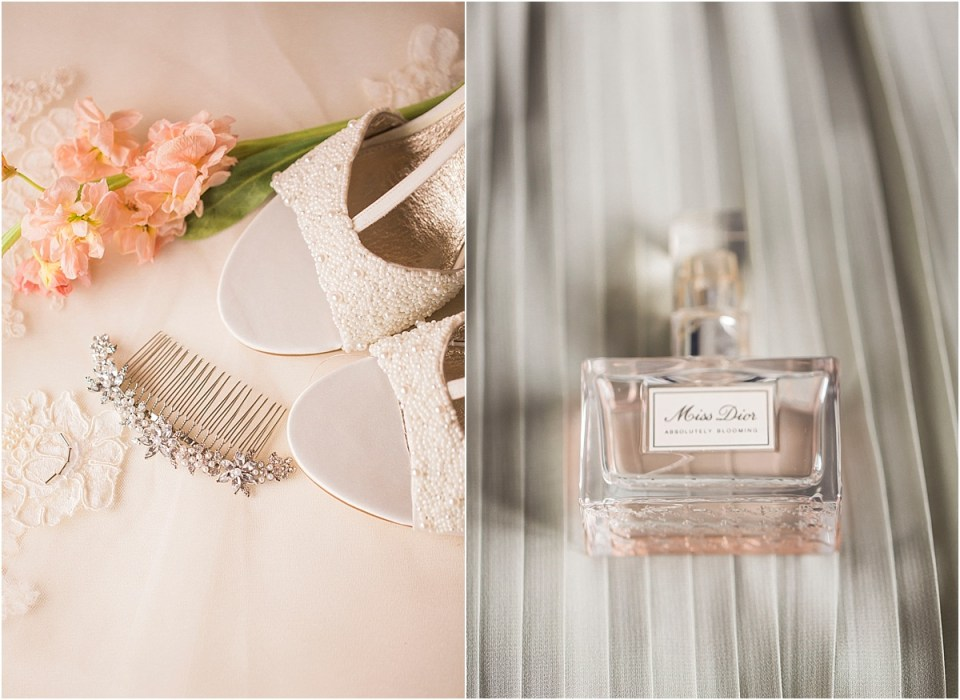 Bridal details by Amber Lea Photography.