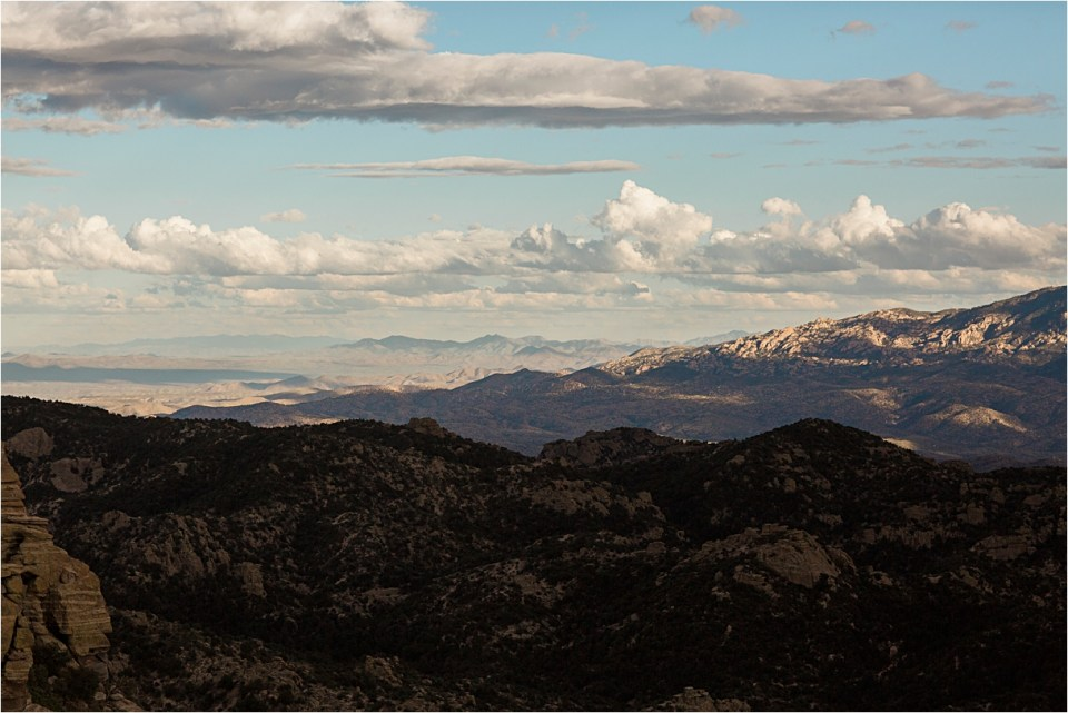 Mountain views from Windy Point, Mount Lemmon.