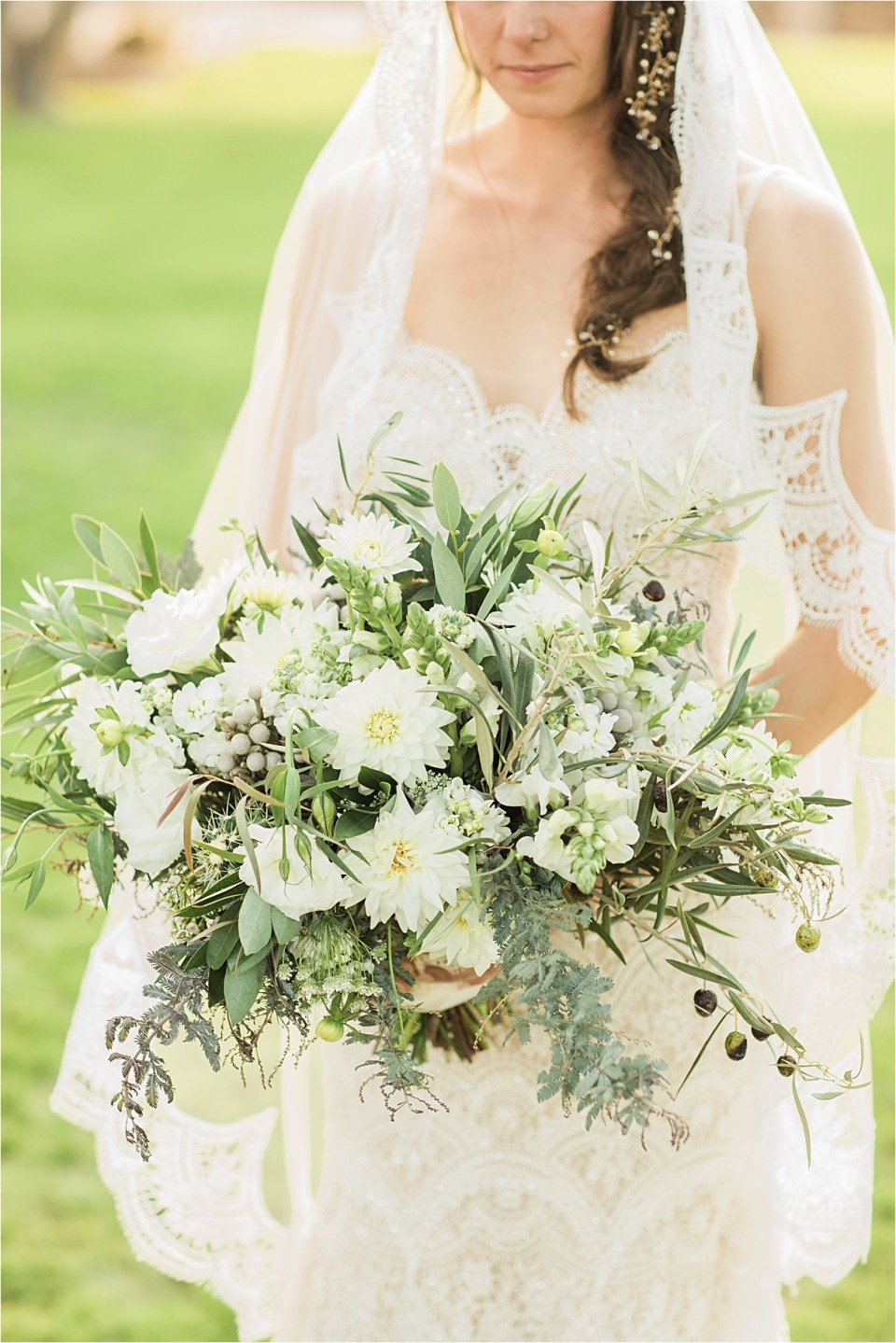 Bridal Bouquet from Atelier De LaFluer at Tanque Verde Ranch Wedding