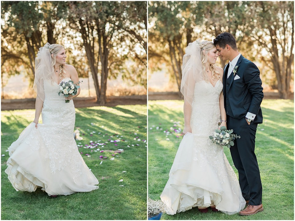 Tucson DIY Backyard Wedding Bridal Photo