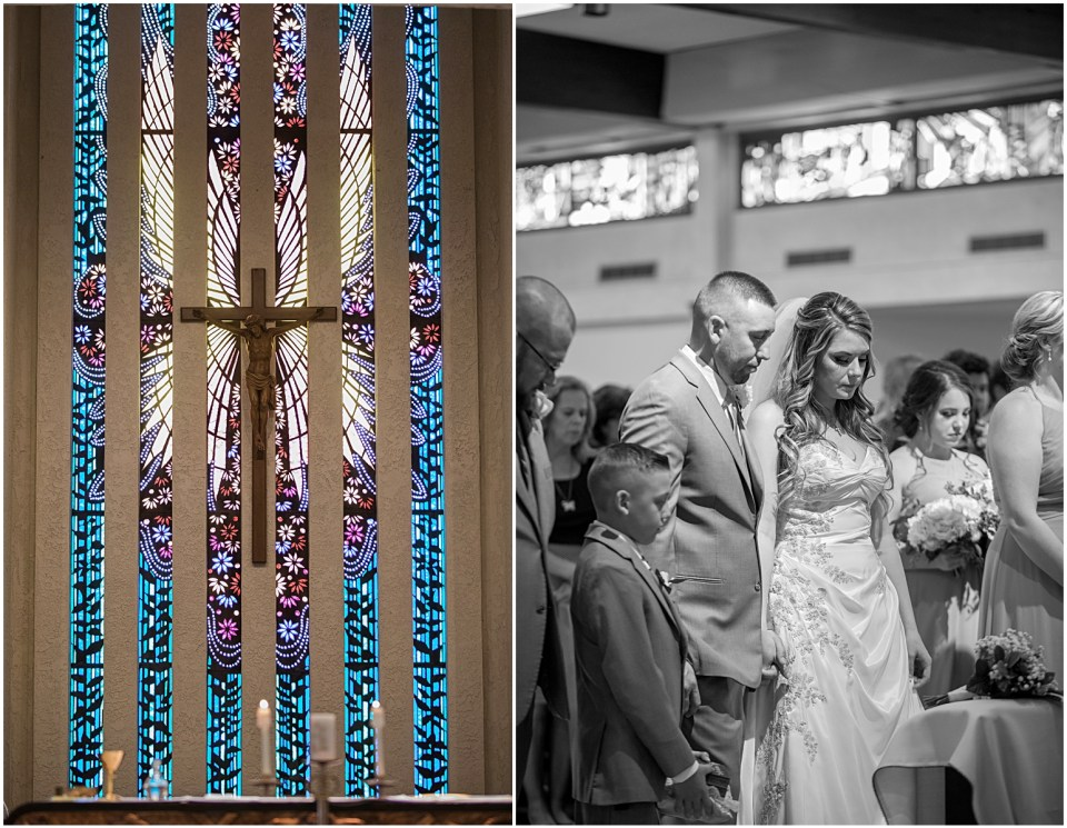 St Frances De Sales Tucson Catholic Wedding.