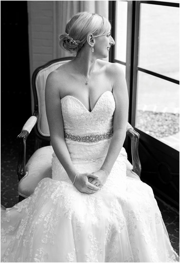 Bride getting ready at Historical Arizona Inn, Tucson, Arizona