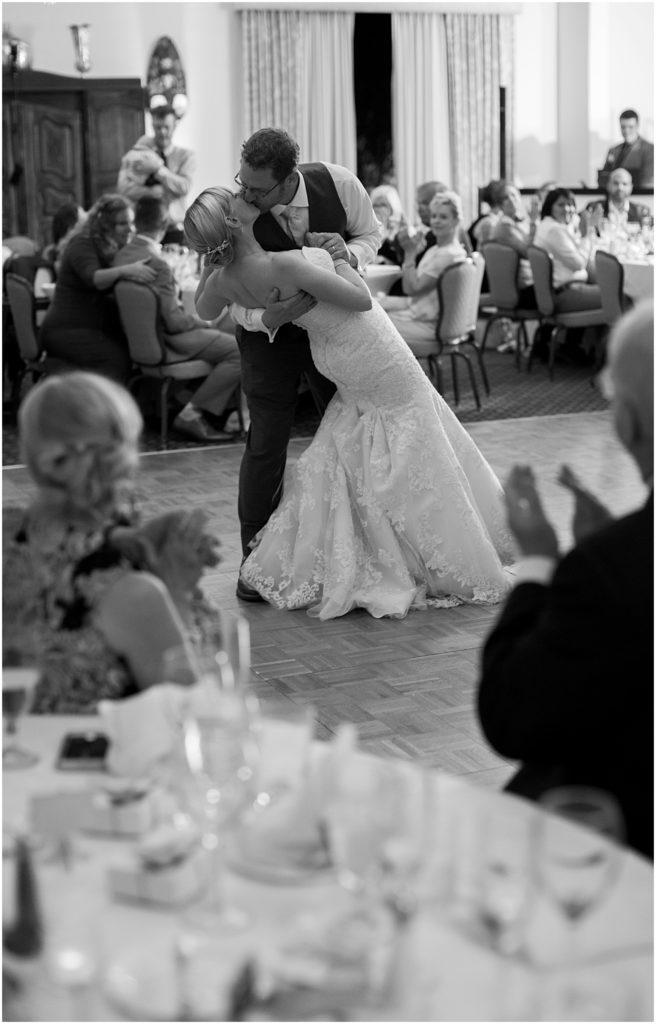 First Dance with Bride and Groom at Historical Arizona Inn, Tucson, Arizona