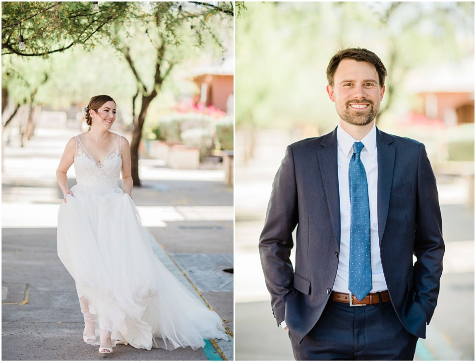Downtown Tucson Wedding at Boarderlands Brewery by Amber Lea Photography