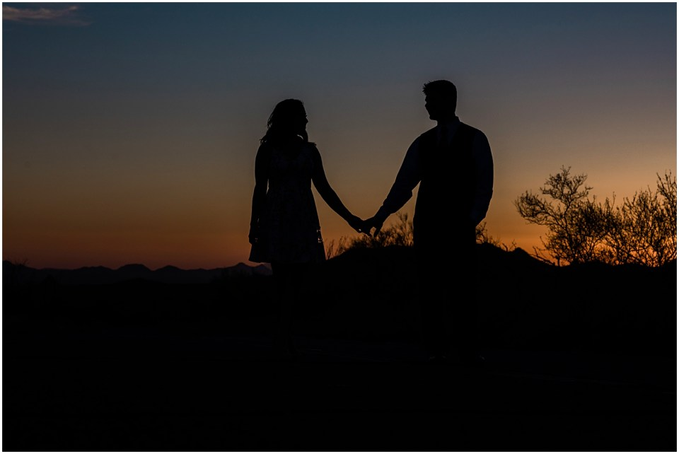 Desert Destination Engagement Session with Amber Lea Photography.