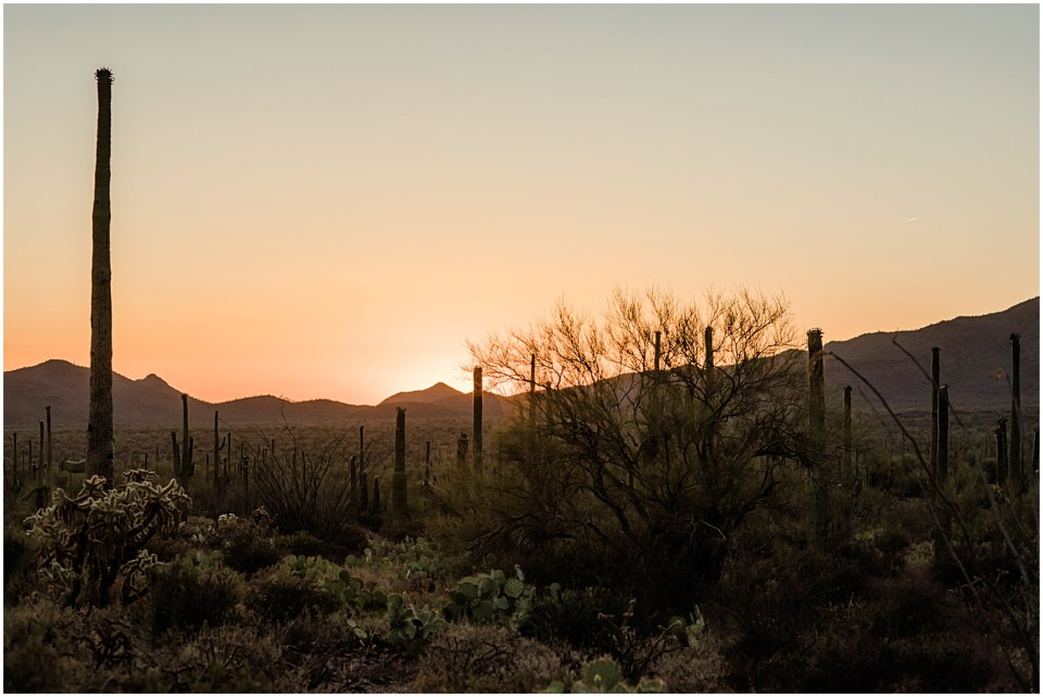 Gates Pass Sunset with Amber Lea Photography.