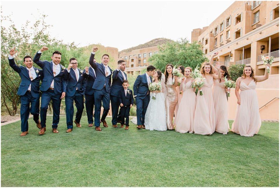 J W Starr Pass Resort Wedding in Tucson, Arizona with Amber Lea Photography