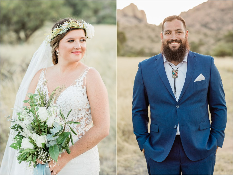 Boho Wedding in Cochise Stronghold Mountains, Pearce, Arizona with Amber Lea Photography.