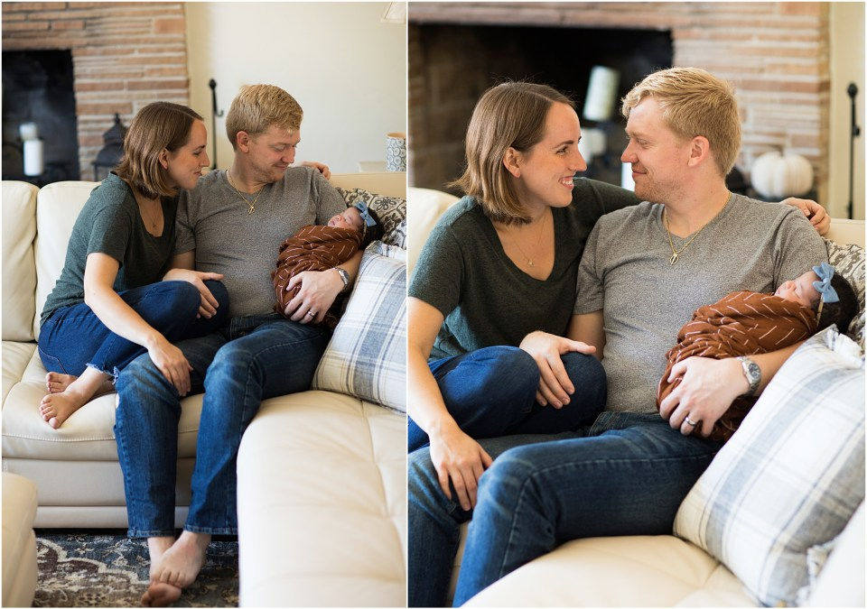 Tucson Newborn Lifestyle Session with Amber Lea Photography.