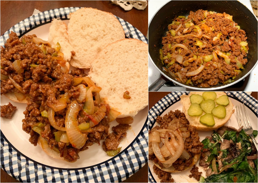 sloppy joes, healthy living, meal ideas