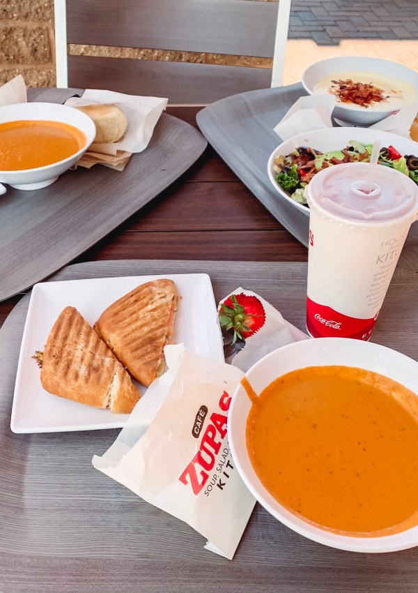 Cafe Zupas | Ultimate Grilled Cheese & Tomato Basil Soup