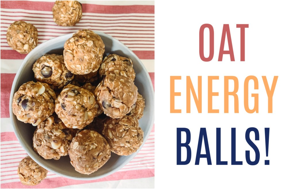 These oat energy balls are a perfect snack. They are filling, full of nutrients, and super versatile. Give them a different twist every time!