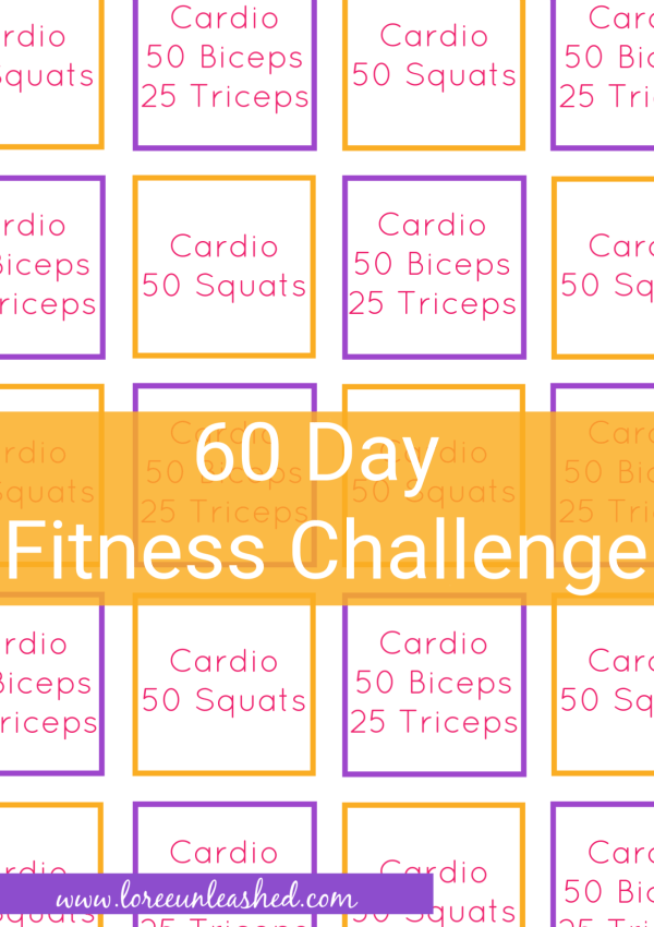 60 Day Fitness Challenge- Ready, Set, Go!